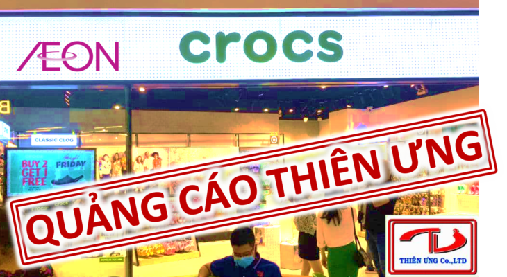 Crocs aeon bình dương